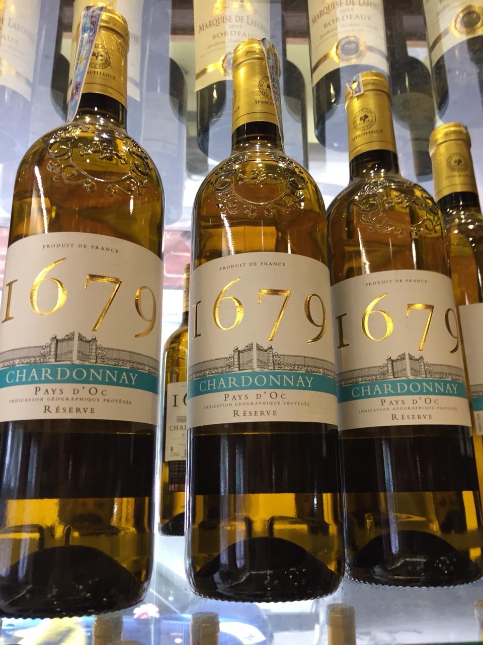 Rượu Chardonnay I679