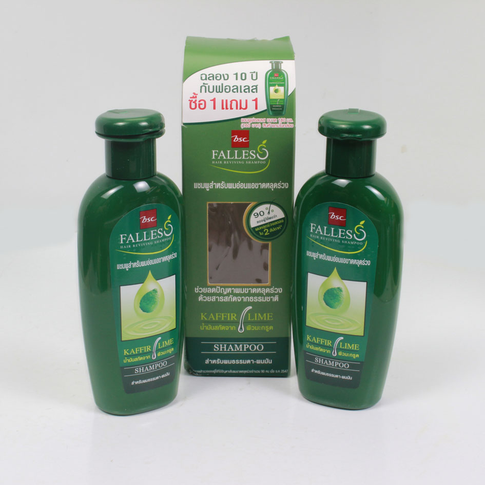 Dầu gội và dầu xả FALLES chống rụng tóc 180 ml