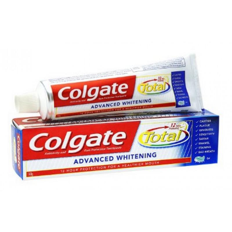 Kem đánh răng Colgate đỏ muối Advanced whitening 145g
