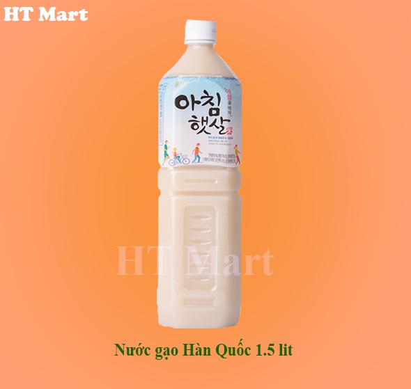 Nước gạo Hàn Quốc 1,5 lit