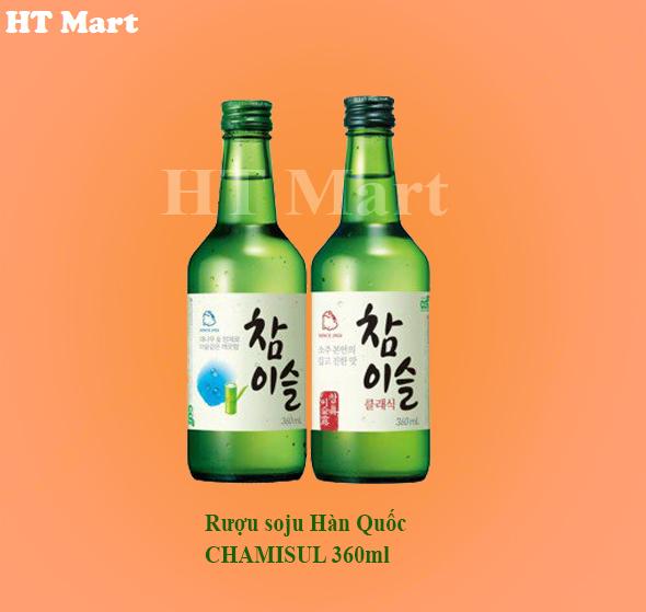 Rượu soju Hàn Quốc CHAMISUL 360ml
