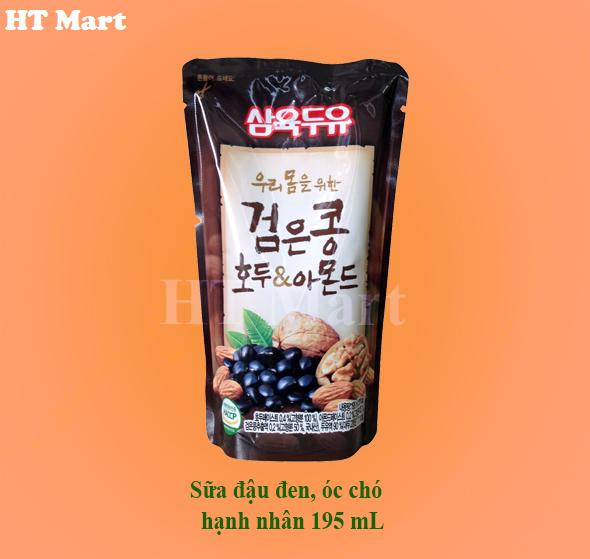 Sữa đậu đen óc chó hạnh nhân 195 mL/20 túi