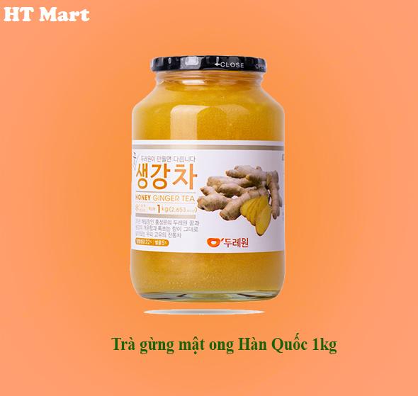 Trà gừng mật ong Hàn Quốc 1kg