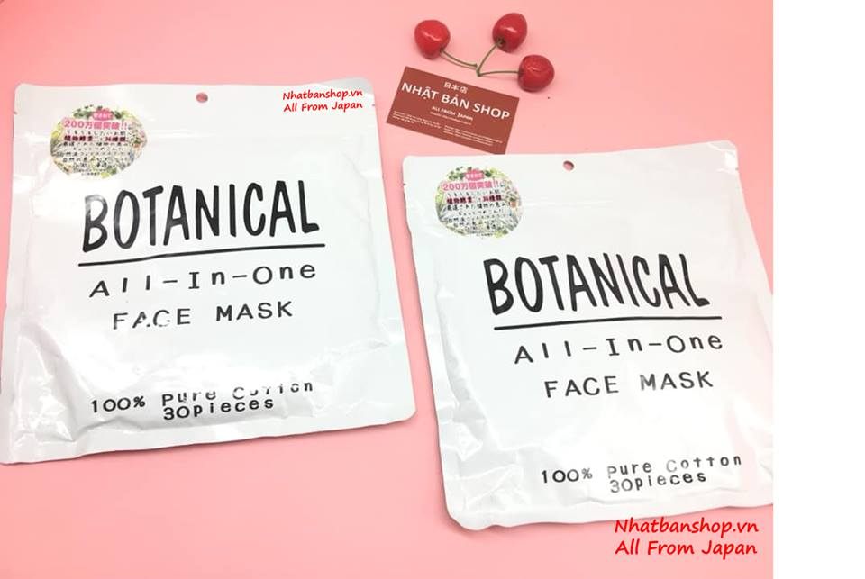 MẶT NẠ DƯỠNG ẨM BOTANICAL ALL IN ONE FACE MASK 30 MIẾNG