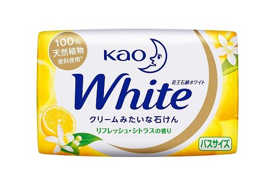 Kết quả hình ảnh cho Xà bông white hương cam+hoa bưởi 130g