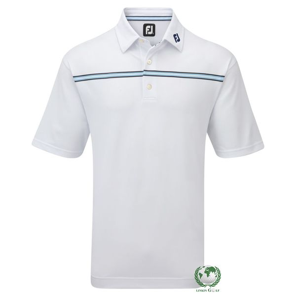 Áo Golf Nam FJ  21214 Strech Pique Chest Stripe (A518)