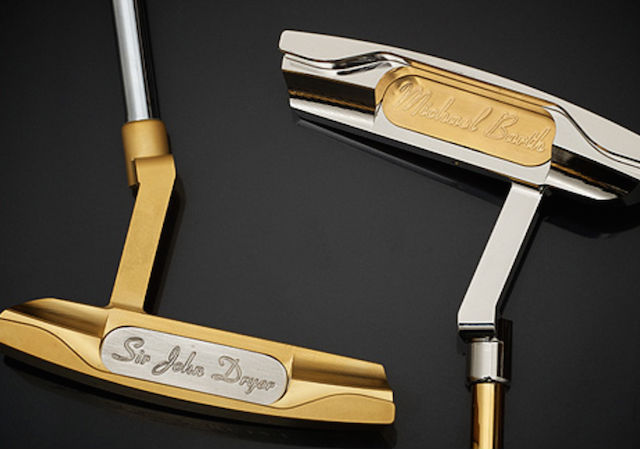 Barth & Sons Golden Putter First Lady Special Edition