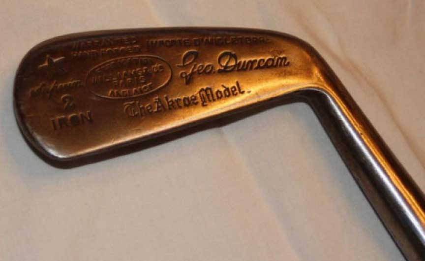 Simon Cossar Fruitwood Metal Headed Putter