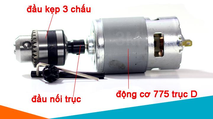 Động cơ 775 trục D và phụ kiện