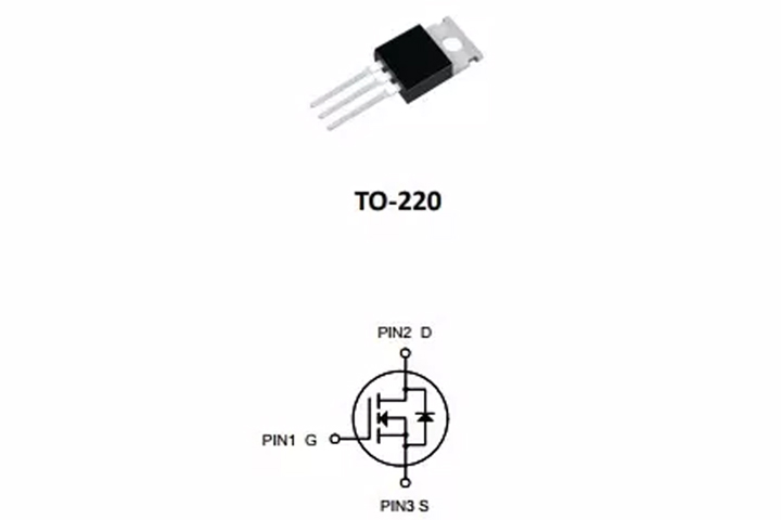 mosfet-2n60-to-220