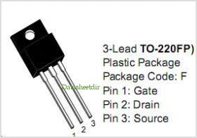 MOSFET 10N60 TO-220 10A 600V N-CH