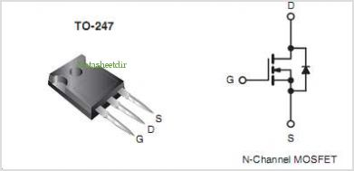 MOSFET IRFP460 TO-247 20A 500V N-CH