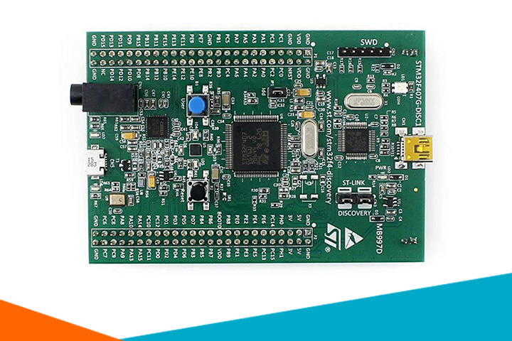 KIT STM32F4DISCOVERY STM32F407G-DISC1