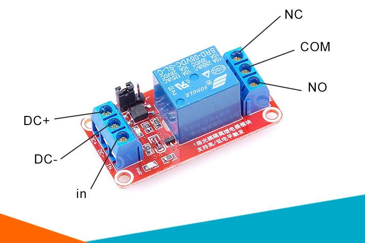 Cách lắp module relay