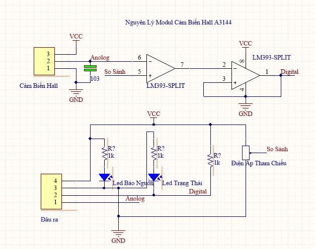 Module Cảm Biến Hall A3144 V1