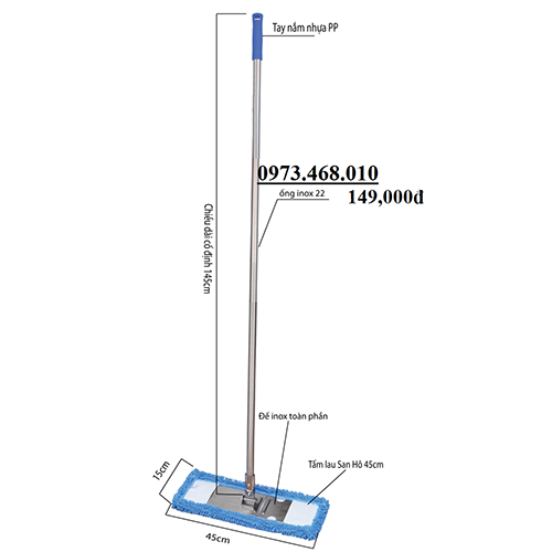 Cây Lau San Hô 45cm