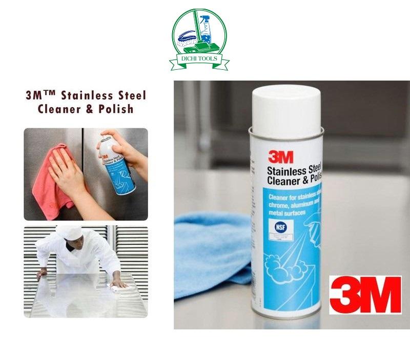 Chất tẩy rửa, làm sạch đánh bóng 3M STAINLESS STEEL POLISH