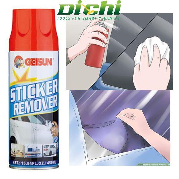 Chai Xịt Chất Tẩy Keo Sticker Remover 450ml