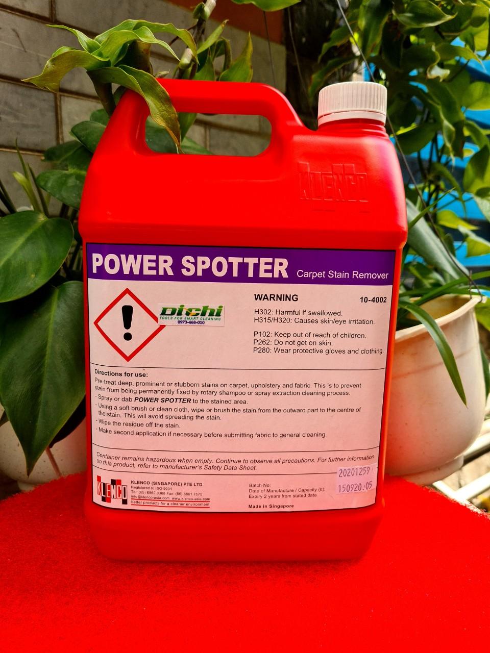 Nước làm sạch thảm Power Spotter