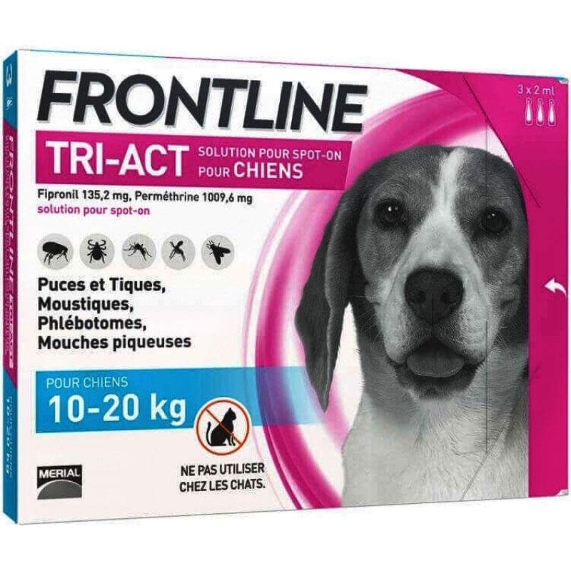 Thuốc Trị Ve,Rận, Ruồi,Muỗi cho chó Frontline Tri-Act