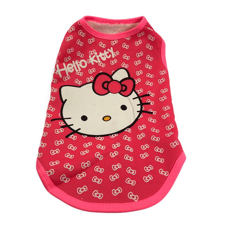 Áo cho chó mèo hình Hello Kitty