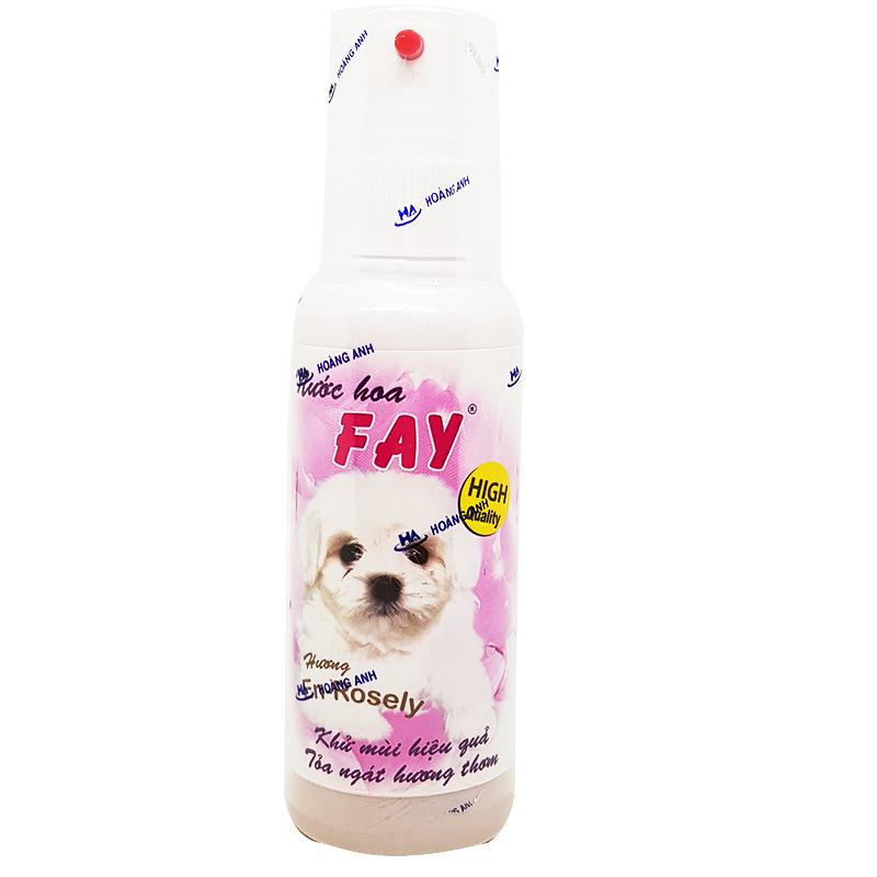 Nước hoa cho chó mèo Fay 90ml