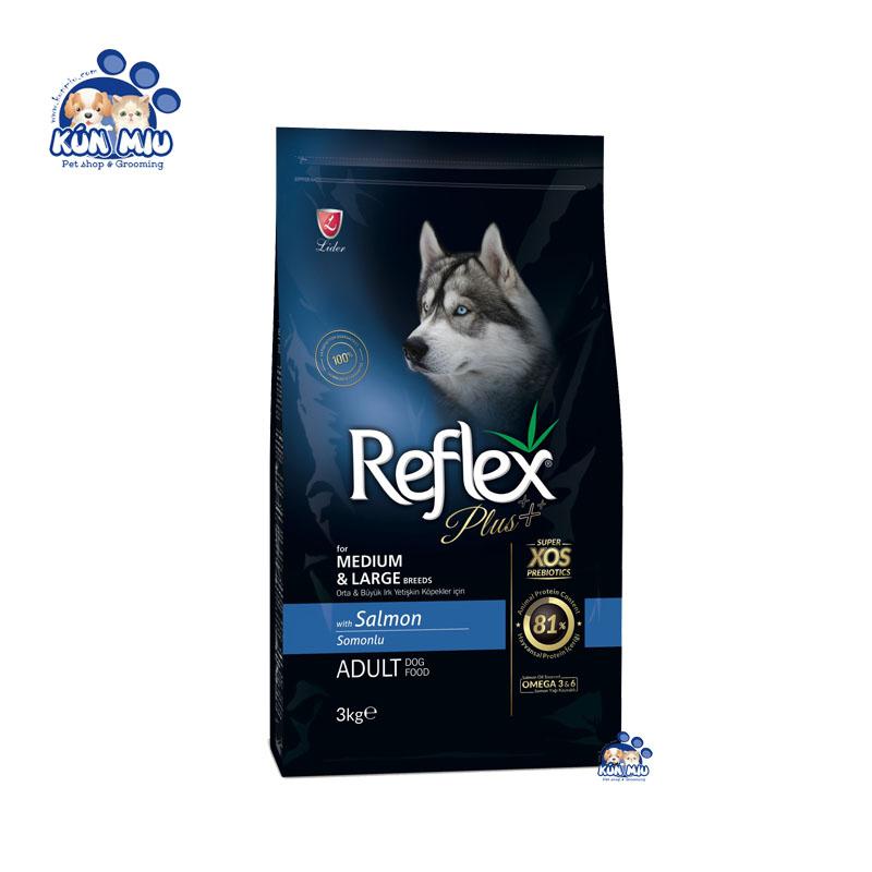 Thức ăn cho chó trưởng thành REFLEX PLUS MEDIUM & LARGE BREED ADULT