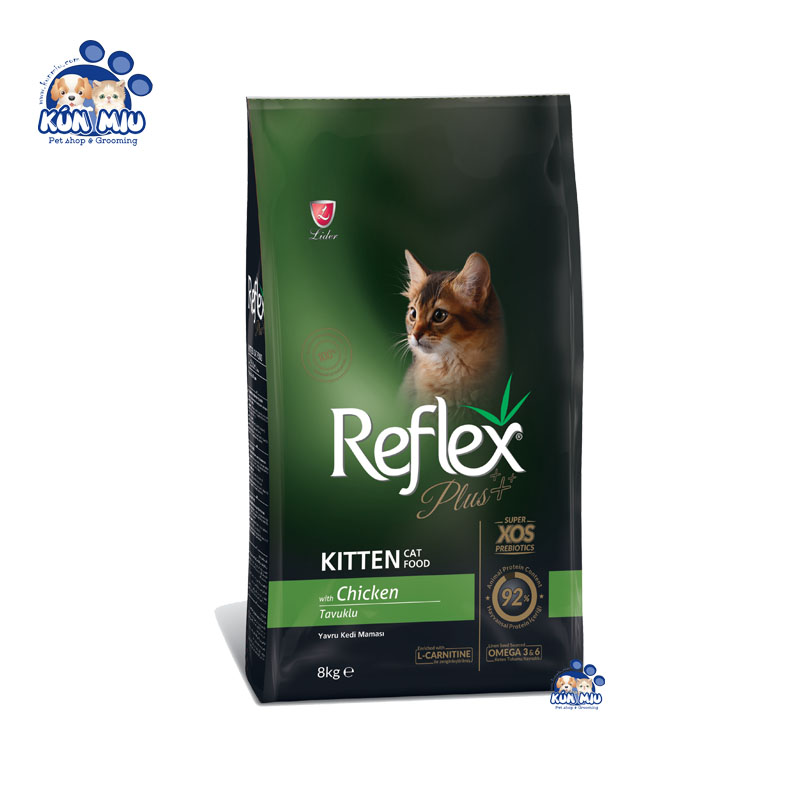 Thức ăn cho mèo con Reflex PLUS Kitten vị Thịt gà
