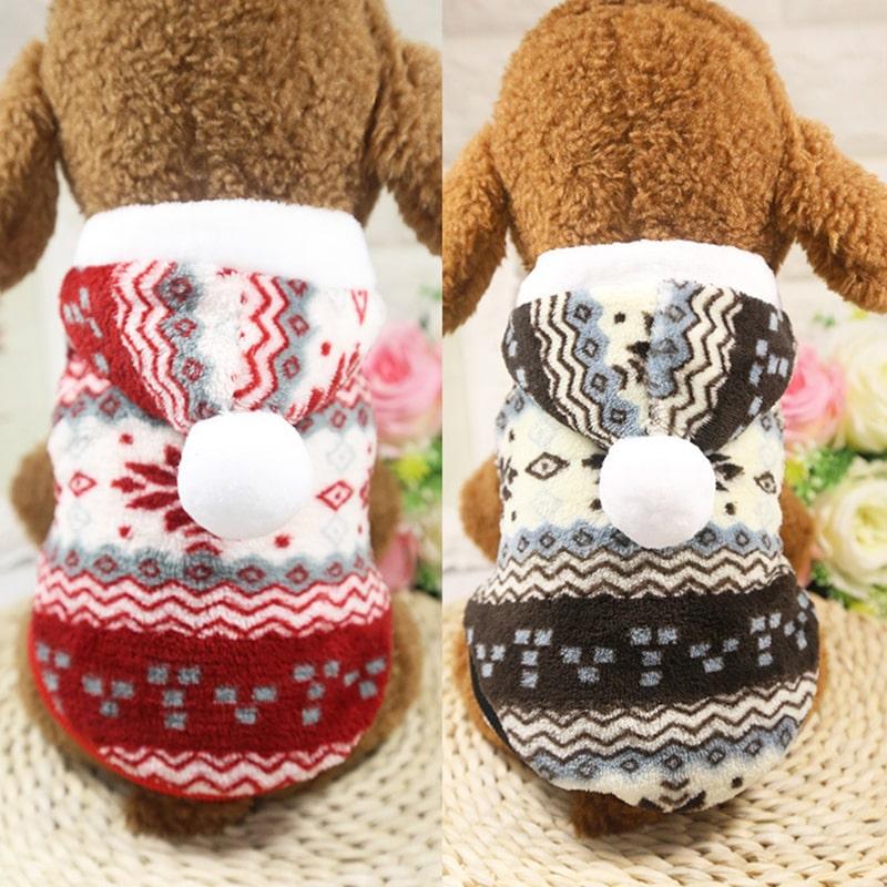 Áo cho chó mèo hình bông tuyết