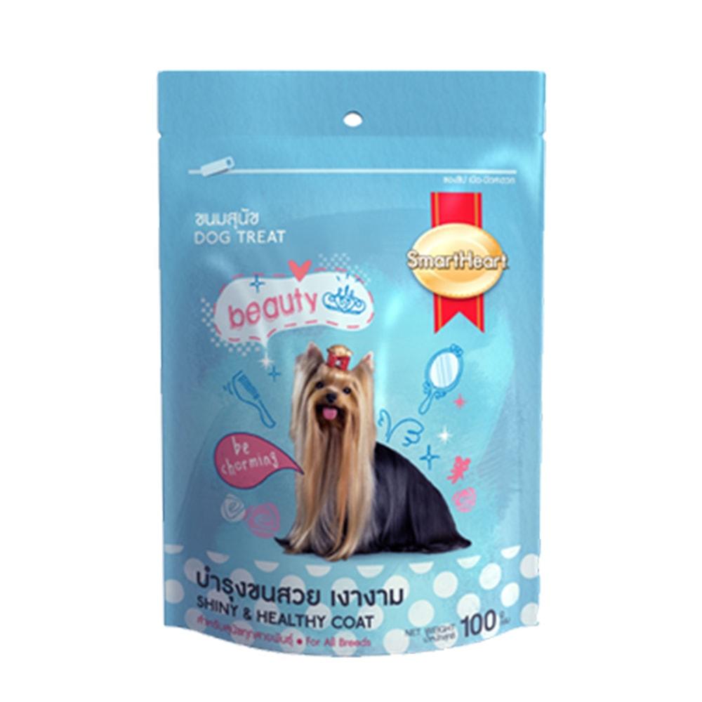 Bánh thưởng cho chó SmartHeart Beauty 100gr