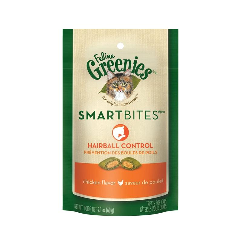 Bánh thưởng mèo giúp tiêu búi lông Greenies 60g