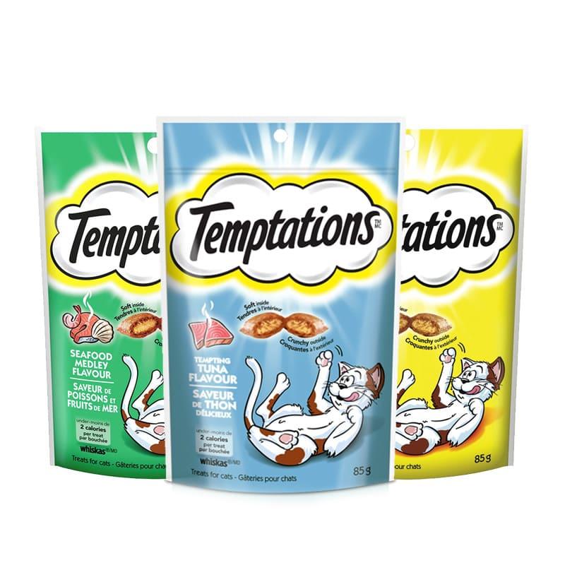 Bánh thưởng cho mèo Temptations