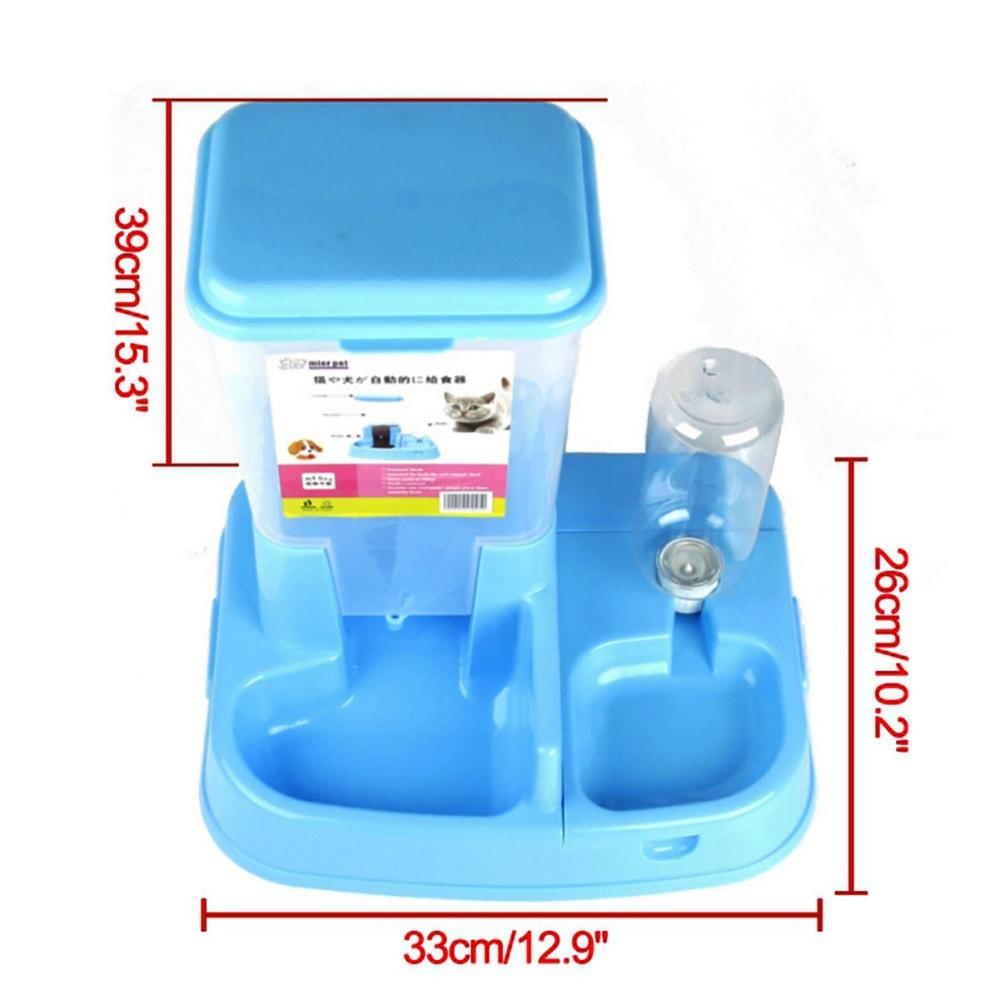 Bộ bát ăn bình nước tự động Mier Pet (BT)
