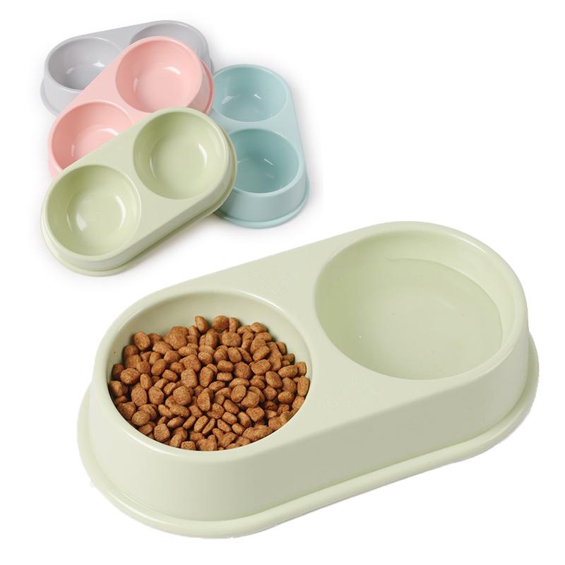 Bát ăn đôi tròn nhựa cao cấp (BT)