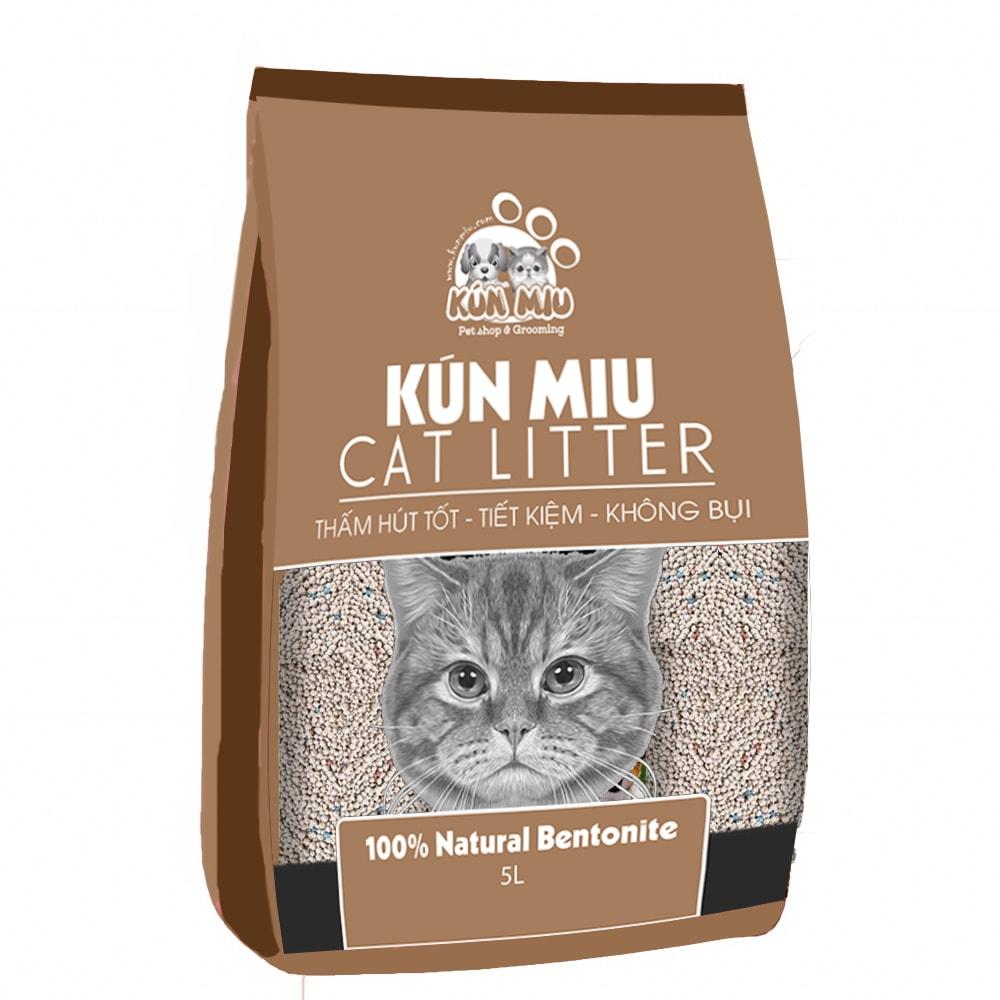 Cát vệ sinh Kún Miu hương cà phê 5L (KV)