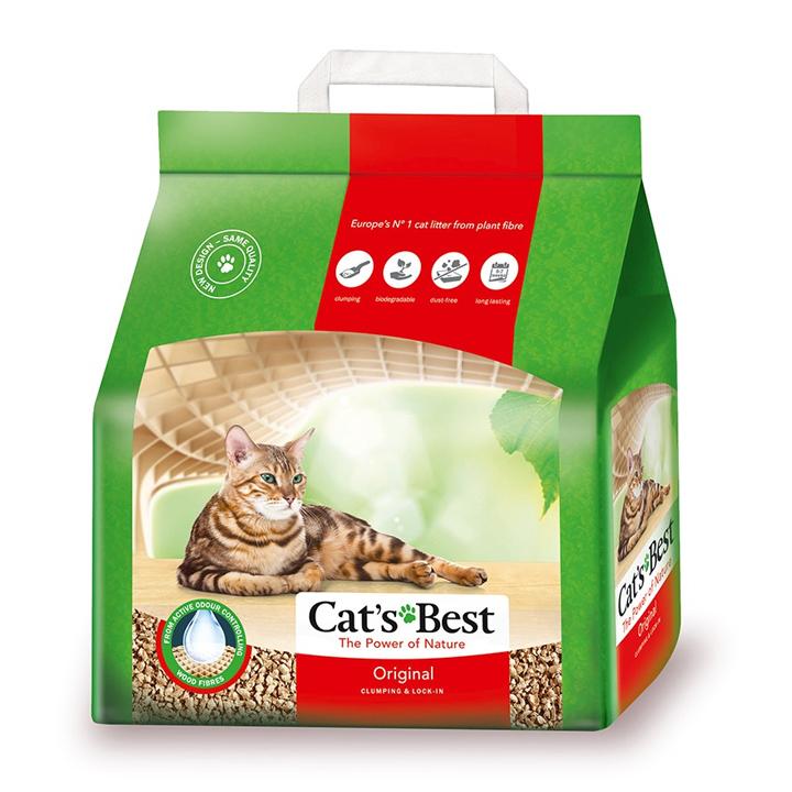 Cát vệ sinh hữu cơ vón cục khử mùi và vi trùng Original Cat's Best