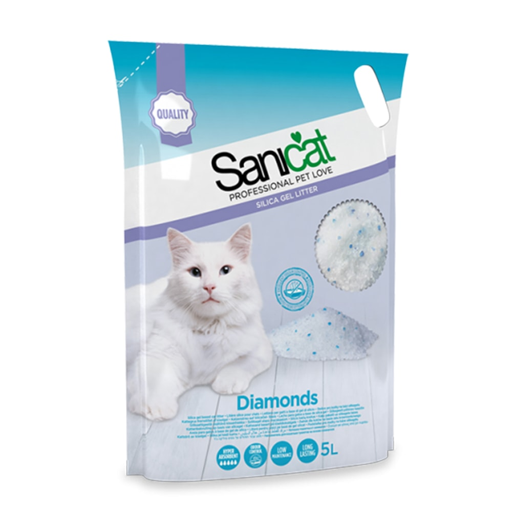 Cát vệ sinh thủy tinh Sanicat