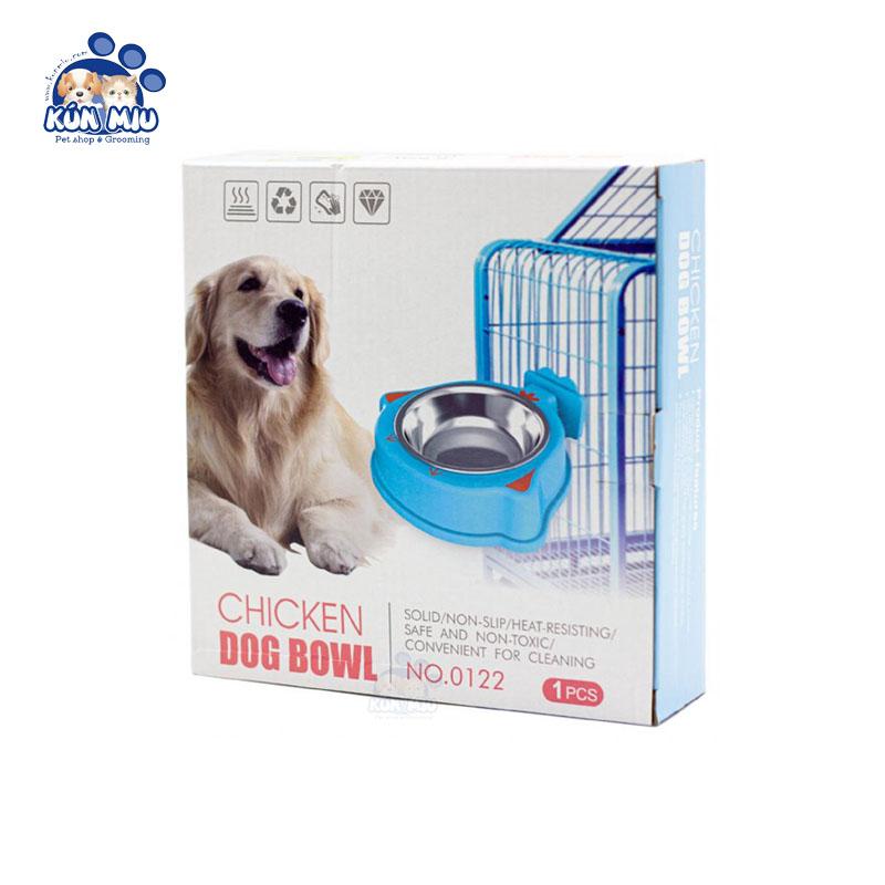Bát ăn treo lồng Chicken Dog Bowl  0122