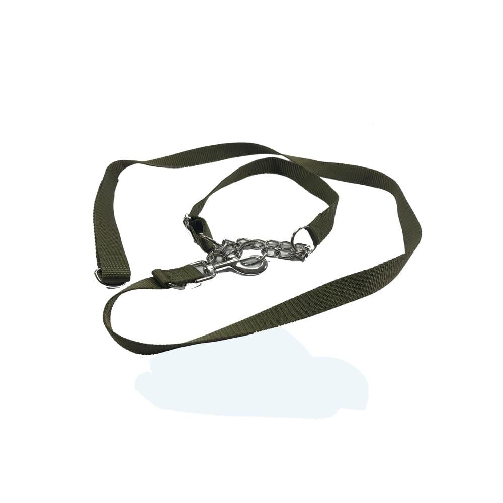 Dây dắt vải vòng cổ xích cho chó