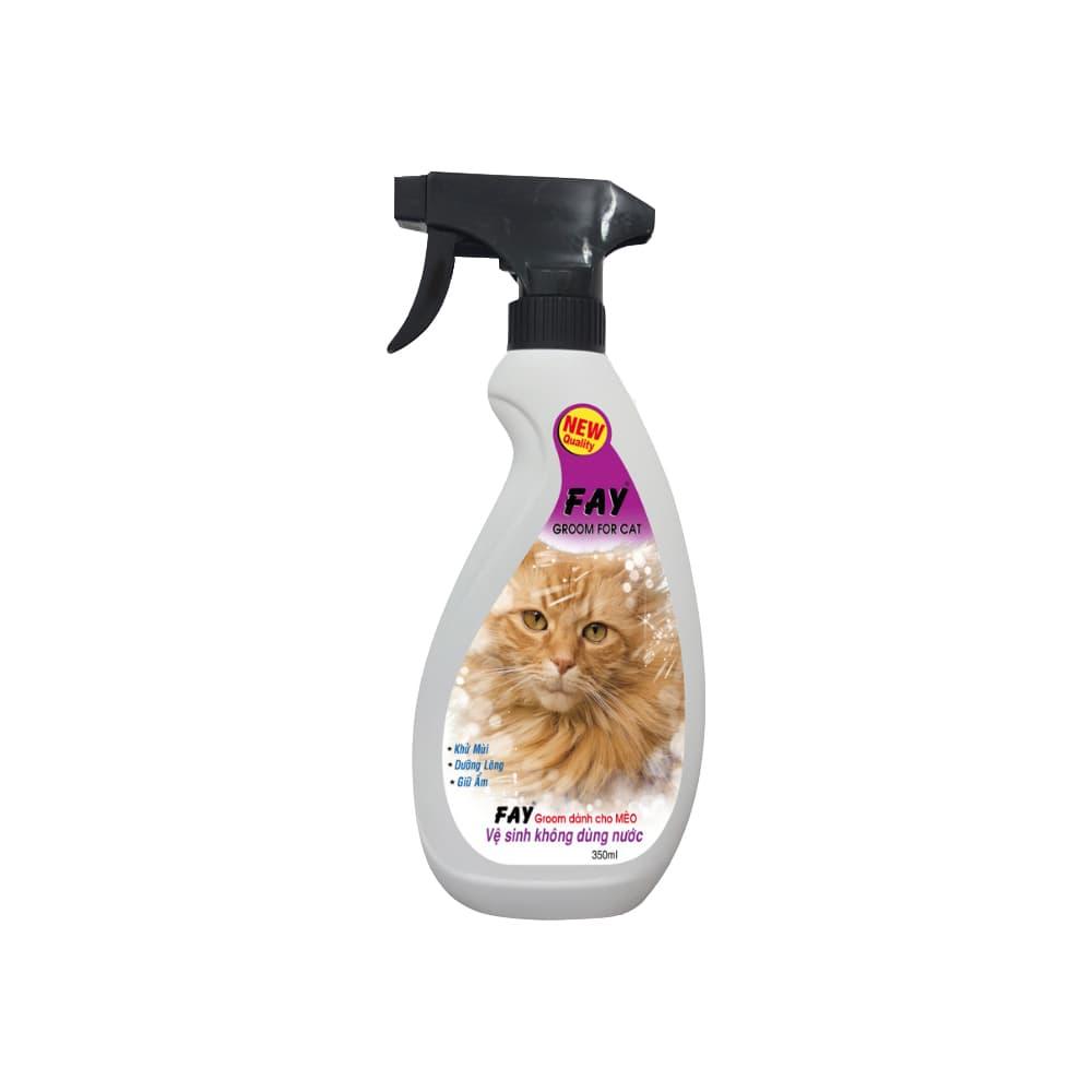 Xịt khử mùi cho mèo Fay Groom 350ml