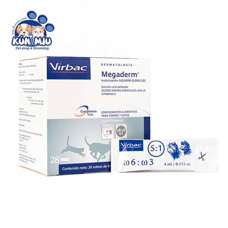 Dinh dưỡng cho chó mèo Virbac Megaderm