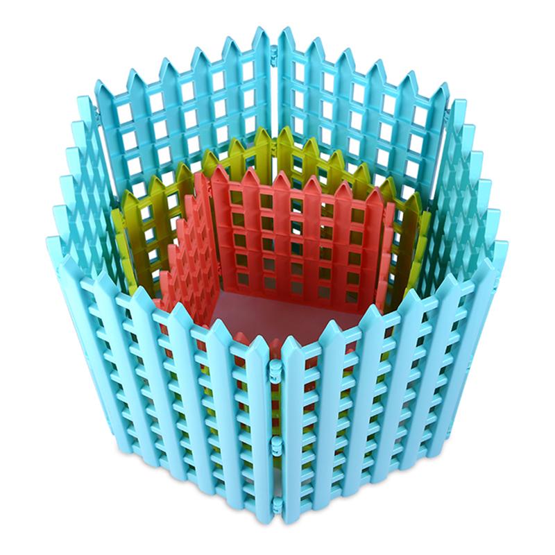Hàng rào lắp ghép quây chó bằng nhựa