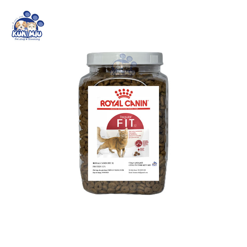 Thức ăn cho mèo Royal Canin Fit 32 - Hộp 1kg