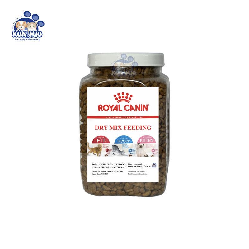 Thức ăn cho mèo Royal Canin Mix - Hộp 1kg