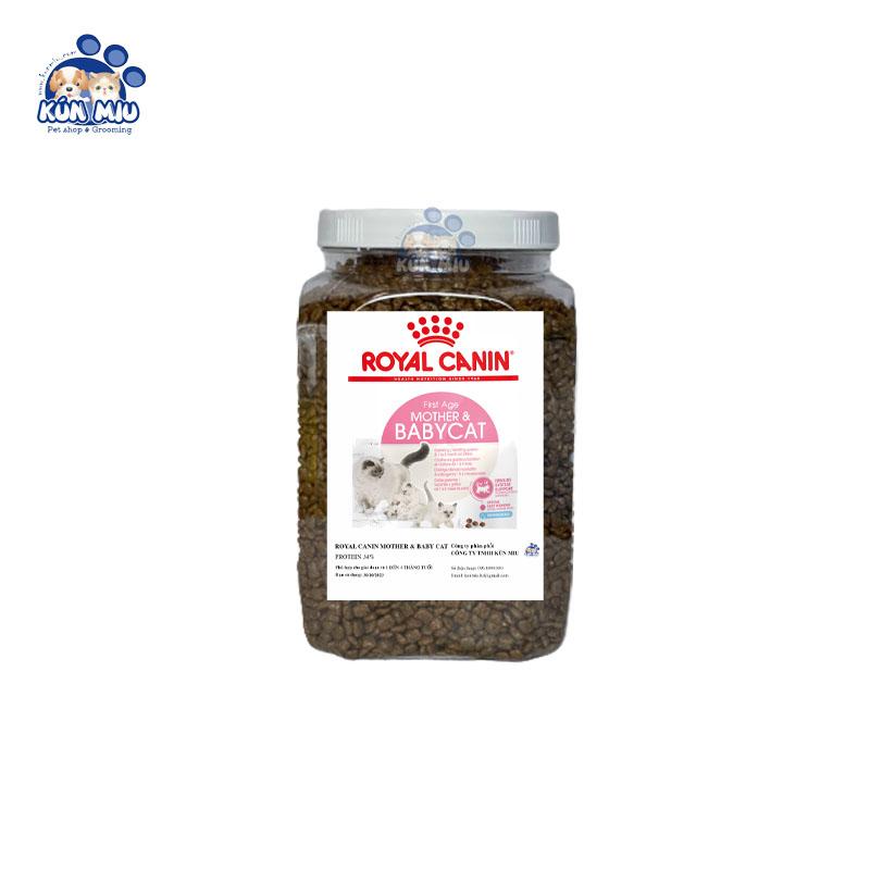 Thức ăn cho mèo Royal Canin Babycat 34 - Hộp 1kg