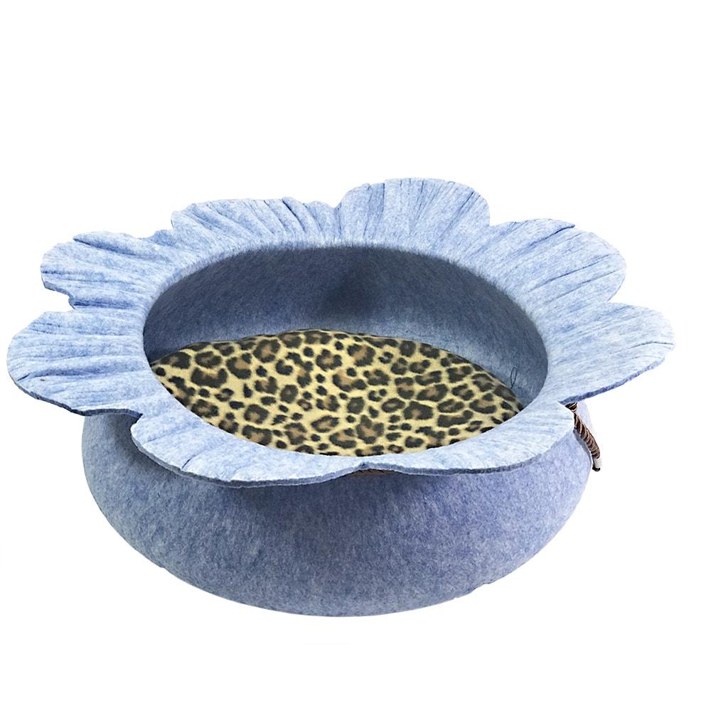Ổ đệm chó mèo hình bông hoa