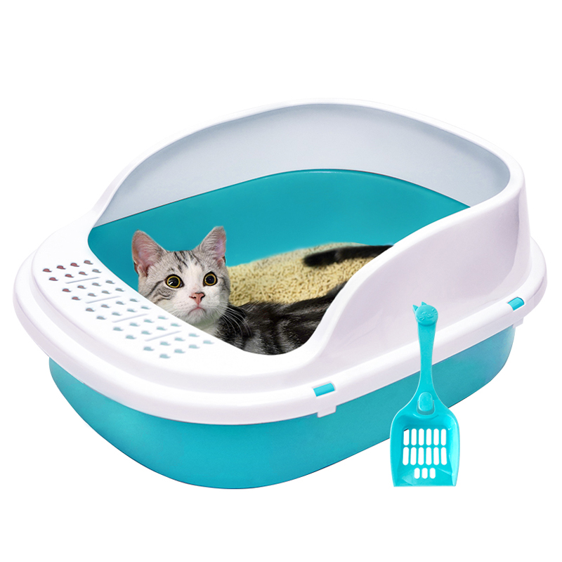 Khay vệ sinh thành cao cỡ lớn cho mèo 0162