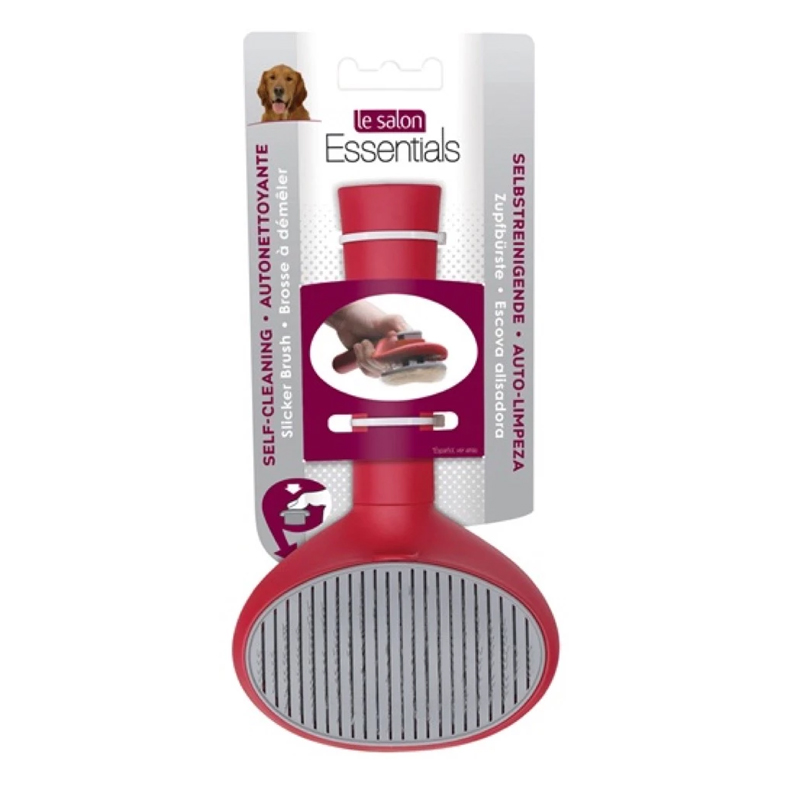 Lược chải lông cho chó Slicker nút bấm Hagen Le Salon 305065 (BT)