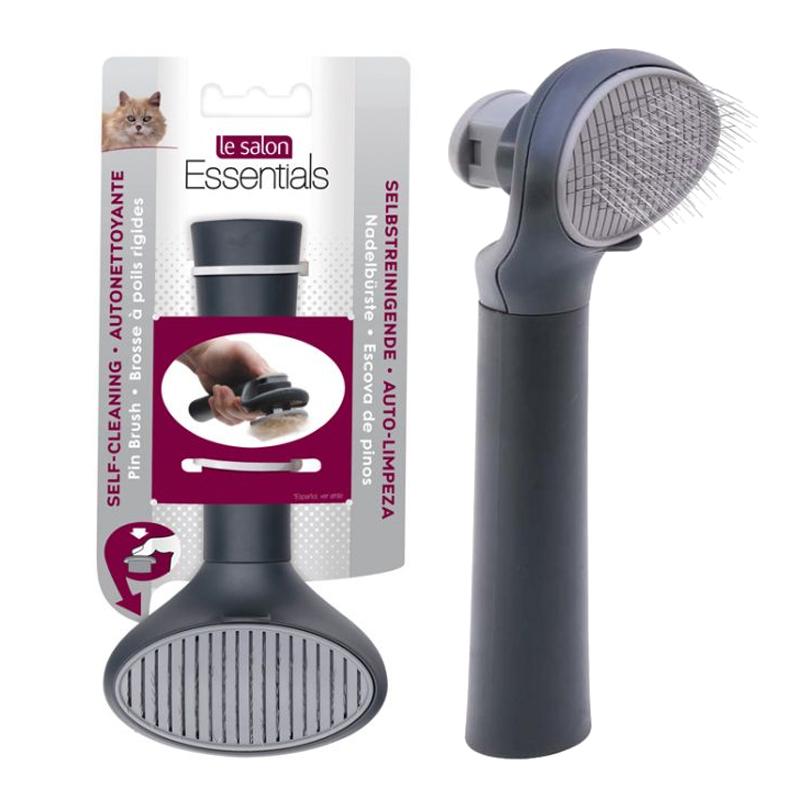 Lược chải lông cho mèo Slicker nút bấm Hagen Le Salon 305070