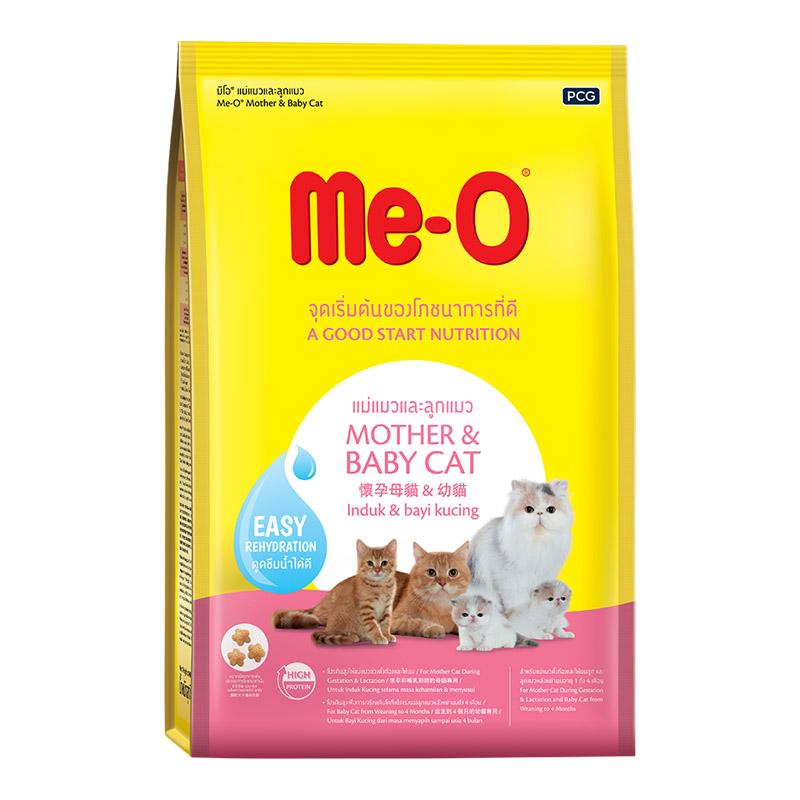 Thức ăn cho mèo mẹ và mèo con Me-o Mother & Baby cat